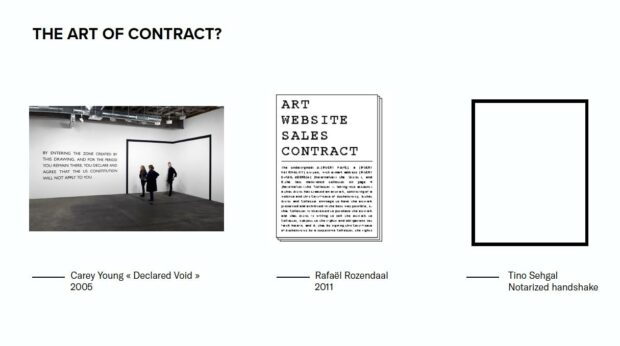The art of contract